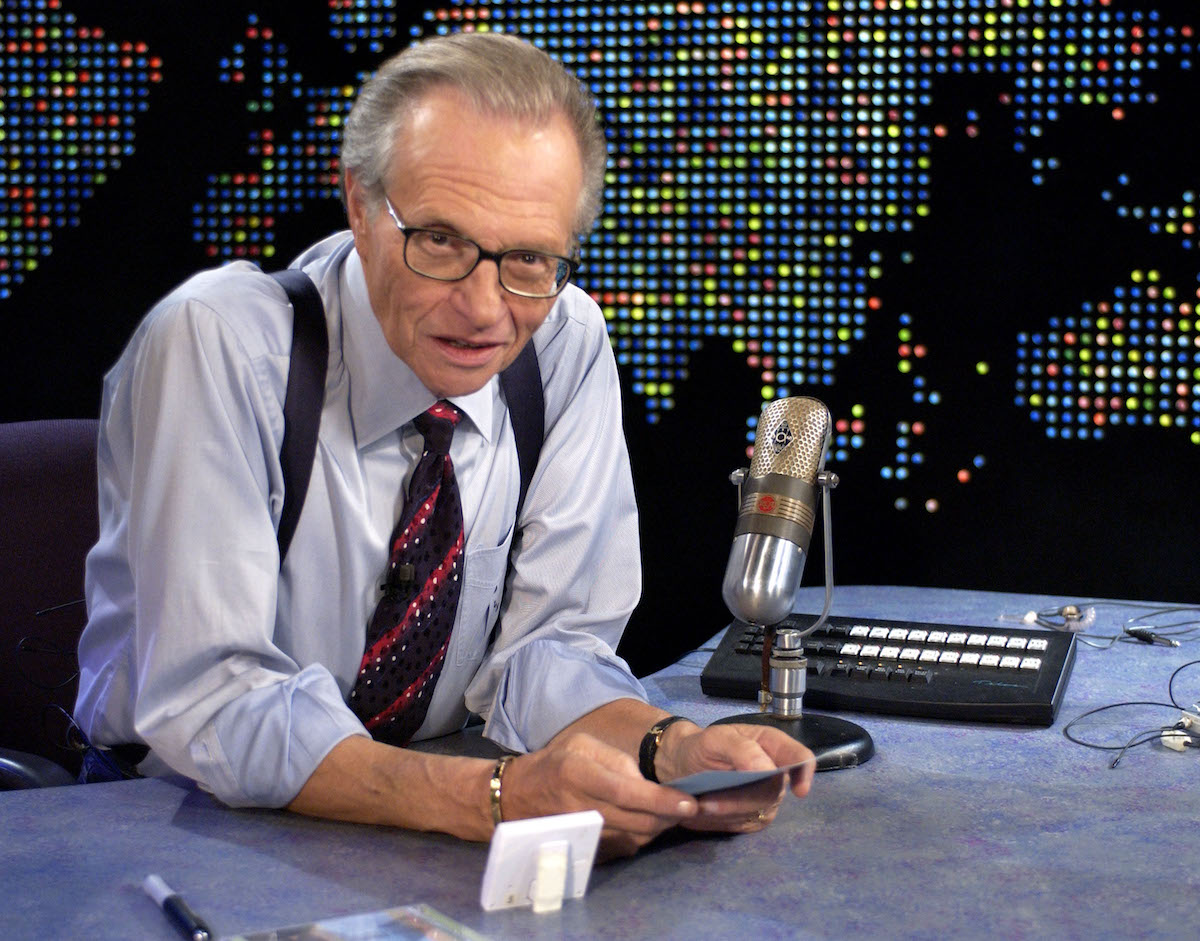 Jerry Seinfeld once ripped into Larry King