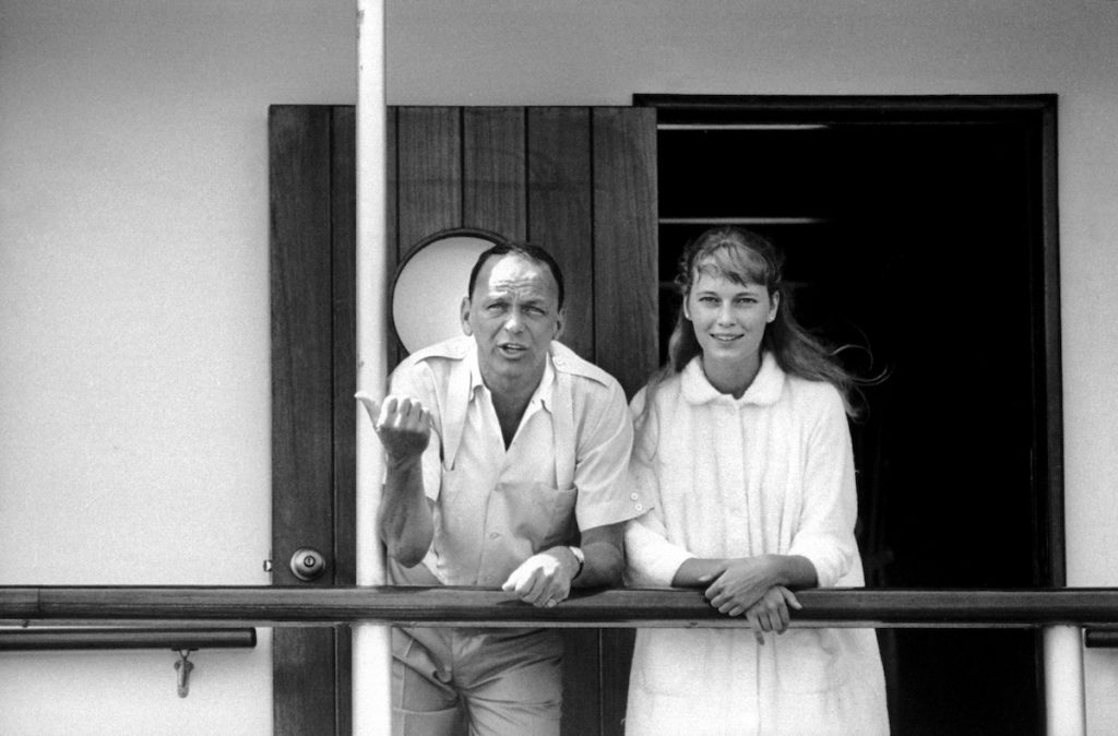 Frank Sinatra and Mia Farrow   Bill Eppridge/The LIFE Picture Collection via Getty Images