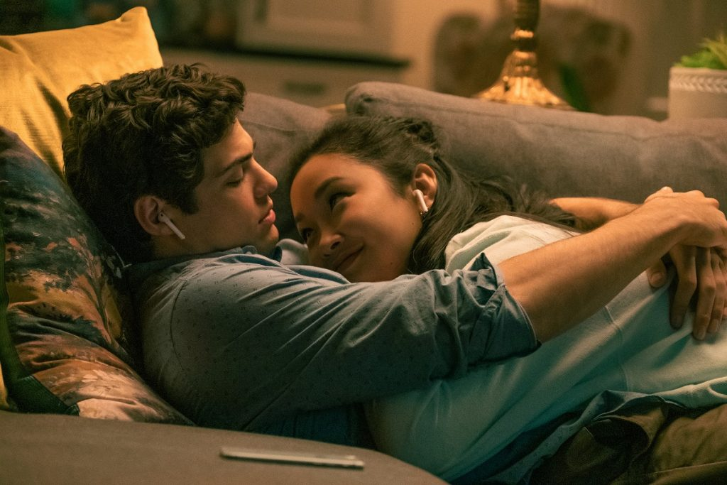 (L-R): Noah Centineo as Peter Kavinsky and Lana Condor as Lara Jean Covey, in 'To All the Boys I've Loved Before 3'