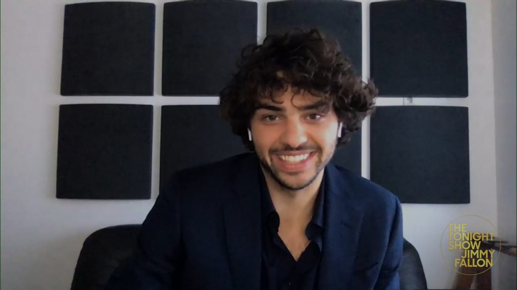 Noah Centineo on a video interview