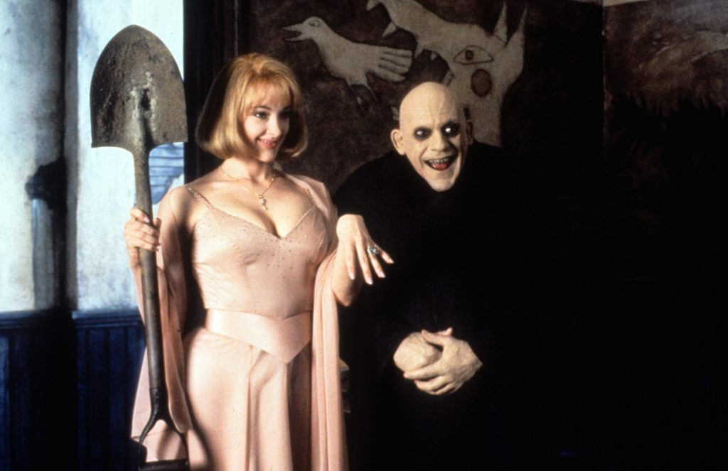 Joan Cusack and Christopher Lloyd In 'Addams Family Values'