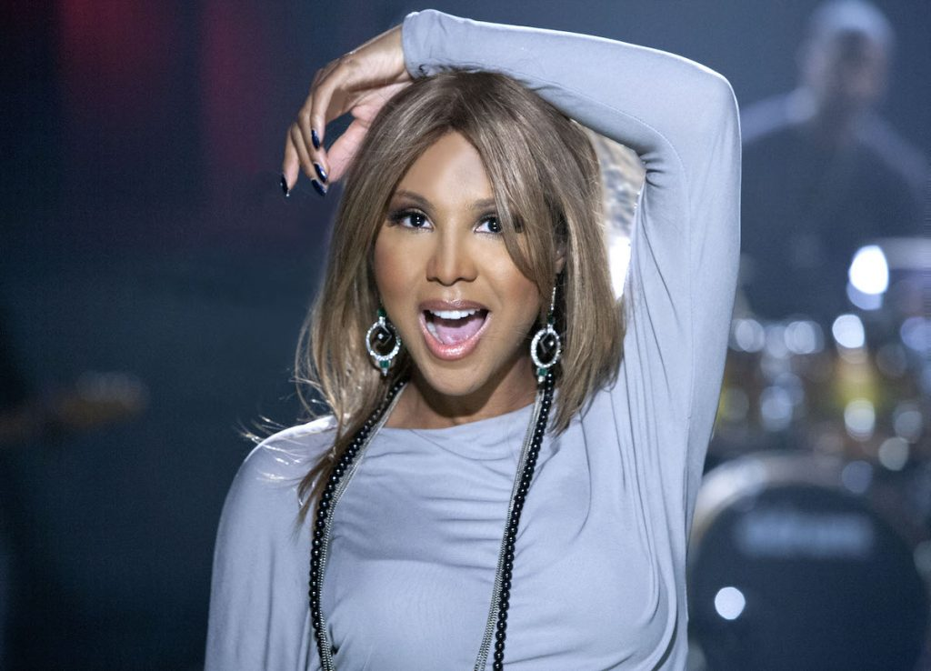 Singer Toni Braxton performs and poses for a portrait