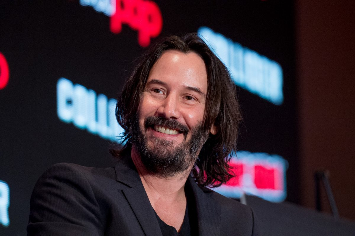 Keanu Reeves at 2017 New York Comic Con