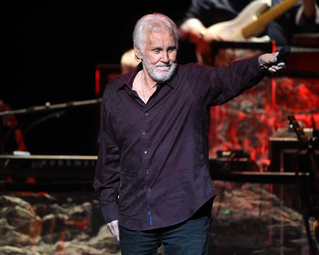 Kenny Rogers during his final world tour