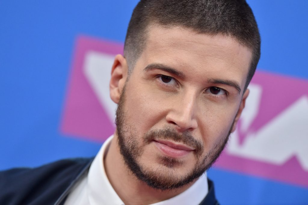 'Double Shot at Love' star Vinny Guadagnino, who fans have spotted flirted with ex Maria Elizondo online