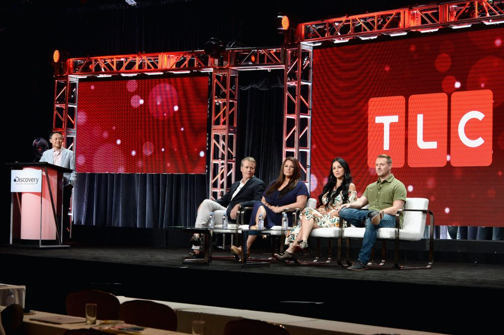 TLC executives speaking on a '90 Day Fiance' panel