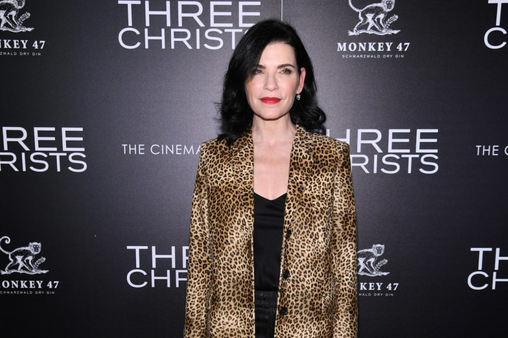 Julianna Margulies attends a screening of 'Three Christs' on January 9, 2020 in New York City