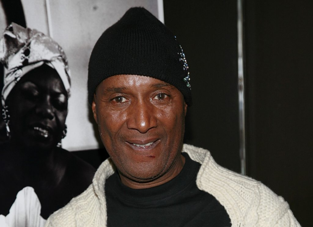 Comedian Paul Mooney attends 'Dr. Nina Simone's 75th Birthday Celebration' at Canal Room on February 21, 2008