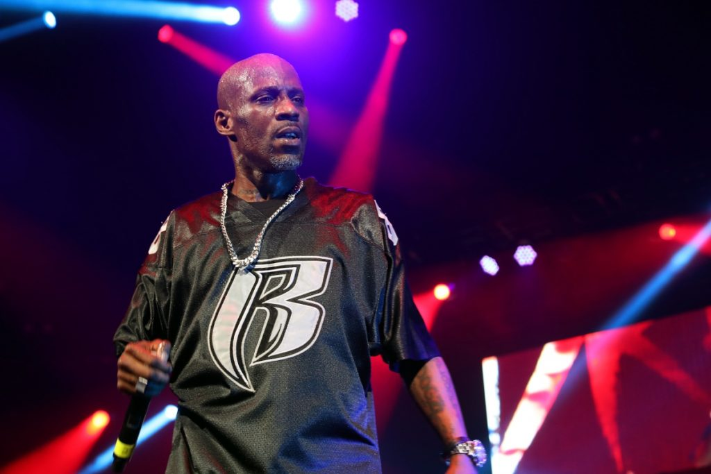 DMX performs during the Ruff Ryders Reunion Concert at Barclays Center on April 21, 2017