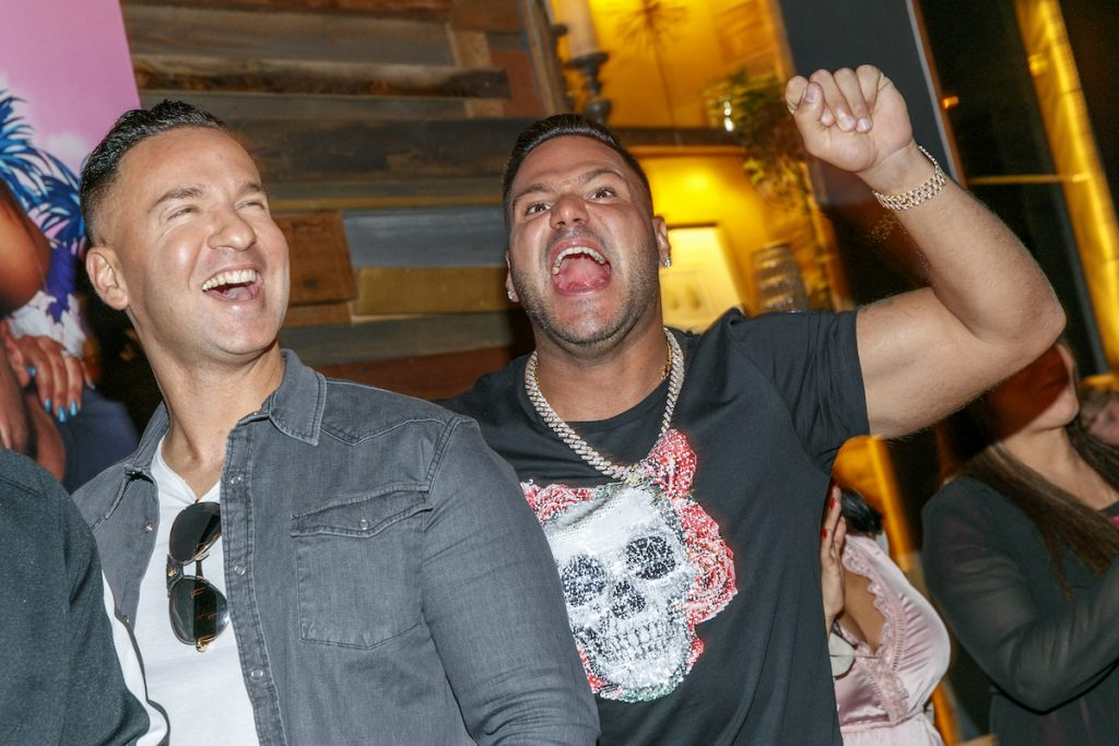 Mike 'The Situation' Sorrentino and Ronnie Ortiz-Magro from 'Jersey Shore: Family Vacation'