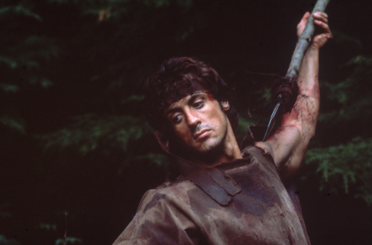 Sylvester Stallone, star of Rocky and Rambo films