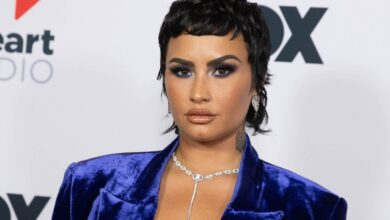 Photo of Demi Lovato Says It really is 'Hard' to Seem at 'Hyper Feminine' Previous Shots and Enthusiast Artwork